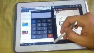Multitarea Galaxy Note 10.1