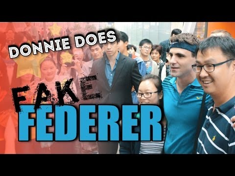 DONNIE DOES | Fake Federer