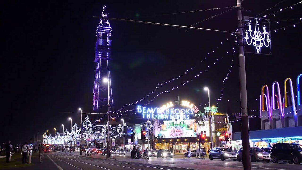 Blackpool Illuminations 2013, Pleasure Beach To Tower