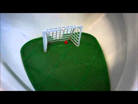 Pee-nalty Shot - Funny Soccer Goal Urinal Pee Splash Guard In Switzerland video