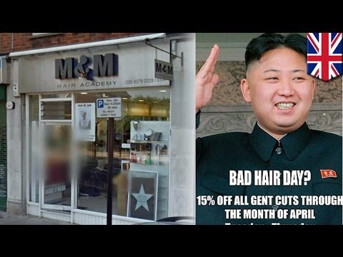 Kim Jung-un hairdo dissed by British hair salon; owner gets into trouble