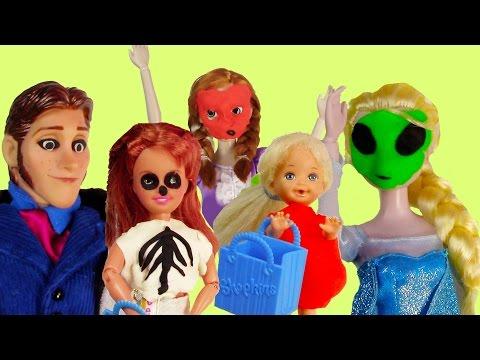 Disney Frozen Halloween Candy Crazy Queen Elsa Princess Anna...
