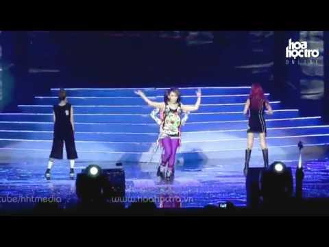 2ne1 - I Don't Care + I Am The Best + Ugly [2011 Vietnam Concert Hd] video