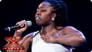 Hannah Barrett Sings I 39 D Rather Go Blind By Etta James Bootcamp Auditions The X Factor 2013