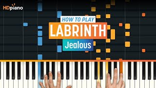 """How To Play """"Jealous"""" by Labrinth 