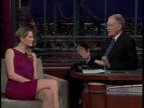 Mischa Barton David Letterman Interview