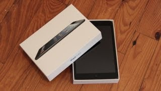 iPad Mini Unboxing (Black)
