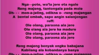 Lagu dan Tari Nusantara: TANDUK MAJENG - Lagu Anak