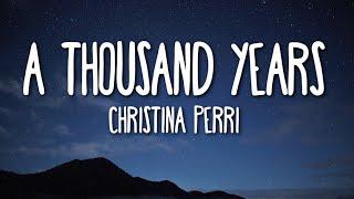 Download lagu Christina Perri - A Thousand Years (Lyrics) 🎵