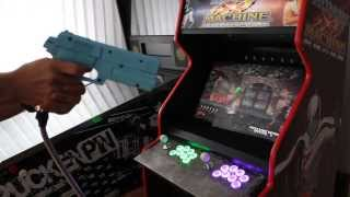NAMCO AimtrakGun MAME cab - House of the Dead 2