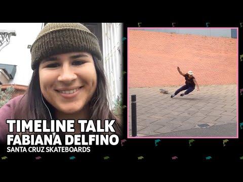 Fabiana Delfino's WORST Slam Ever & More! | Timeline Talk | Santa Cruz Skateboards