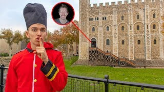EXPLORING GAME MASTER TOP SECRET CASTLE (face reveal using spy gadgets and mystery evidence clues)