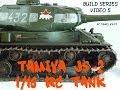 Tamiya JS-2 1/16 RC Tank Build Series Video 5