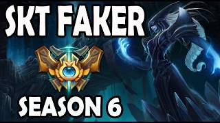 SKT T1 Faker Lissandra vs Twisted Fate MID Ranked Challenger Korea