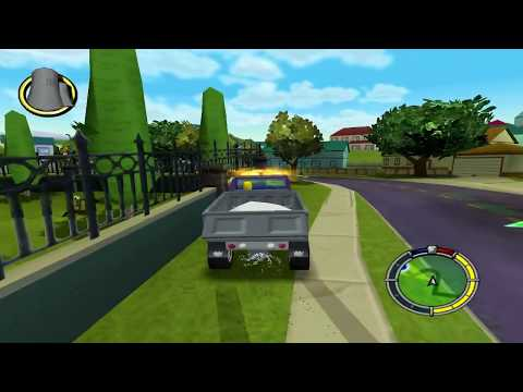 Re-Test The Simpsons Hit & Run PC HD FR