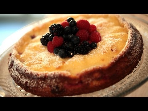 Triple Berry Danish Cheesecake || KIN EATS