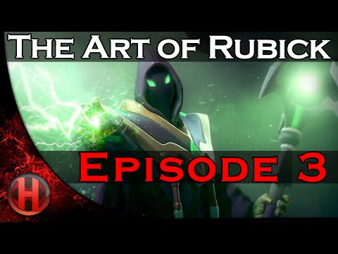 Dota 2 The Art of Rubick - Ep. 3 [Red Bull Weekly]
