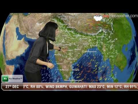 27/12/13 - Skymet Weather Report for India