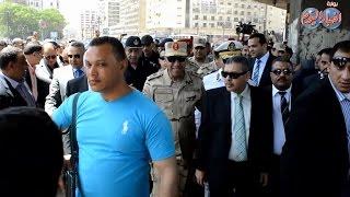 قائد المنطقة المركزية العسكرية ومدير أمن القاهرة يتفقدان ميدان رمسيس