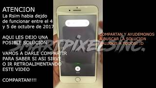 Rsim 11 Dusim, Etc.  posible solucion al bloqueo de apple OCT 2017