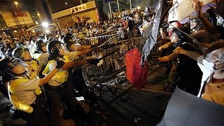 Hong Kong protesters becoming more 'radical and violent' - police