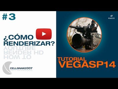 Como Renderizar en Magix Sony Vegas Pro 14 [Youtube HD 720p 1080p]