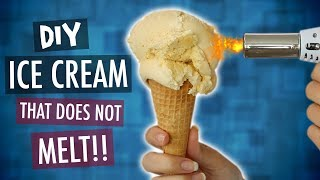 DIY ICE CREAM THAT DOES NOT MELT!!