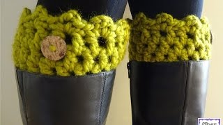 Episode 128: How To Crochet Friendship Boot Cuffs