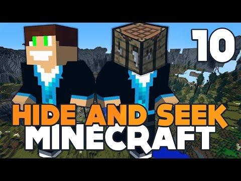 SUCHAR CHALLENGE HAYPADA!   Minecraft - Hide'n'Seek #10   Vertez & HayPad