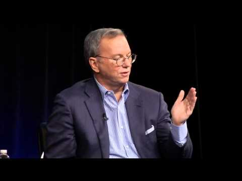An Evening with Google's Executive Chairman Eric Schmidt