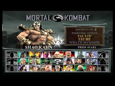 Mortal Kombat Deception Intro Gameplay Fatalities HD