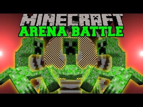 MUTANT CREEPERS BATTLE - Minecraft Arena Battles - Mutant Creatures Mod