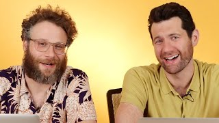"Seth Rogen and Billy Eichner From ""The Lion King"" Play Ship or Sink"