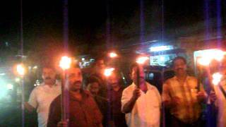 Mullaperiyar protest in Uzr
