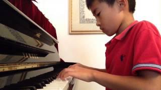Arabic piano song