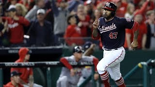Nationals Beat Cardinals 8-1 to Go Up 3-0 in NLCS | Game 3 MLB Highlights