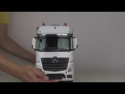 Review of RC Truck ACTROS 6x6 HOOK LIFTER - ScaleART