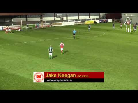Goal: Jake Keegan (vs Derry City 26/10/2018)