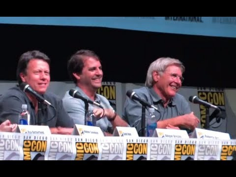 Harrison Ford Cracks Up Comic Con Audience