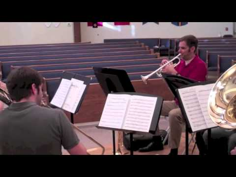Spokane Brass Quintet Rehearsal Sneak Peek: Montiverdi