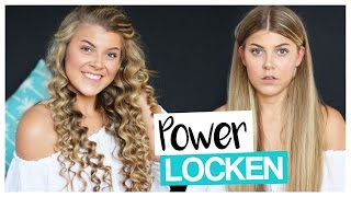 POWER LOCKEN mit BILLIG LOCKENSTAB | COCO