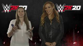 Becky Lynch on being cover star! WWE 2K20