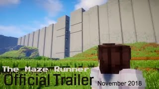 Minecraft: The Maze Runner OFFICIAL TRAILER 2
