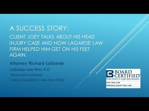 A Client Success Story:  Joey C. Talks About His Case