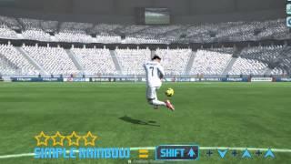 Fifa Online3 Skill Tutorial on keyboard