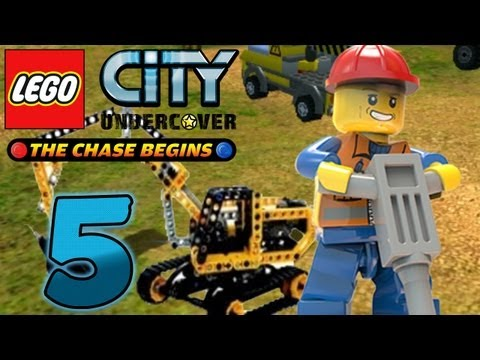 Let's Play Lego City Undercover The Chase Begins Part 5: Vom Polizist zum Bauarbeiter