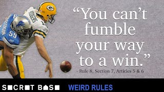 """The Holy Roller"" was brilliantly idiotic and the NFL said never again 