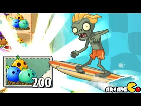 Растения против зомби — мини игра 19