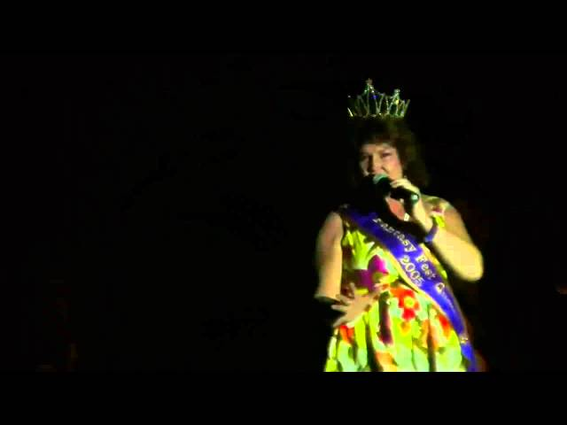 Redd Sings at Coronation Ball Key West