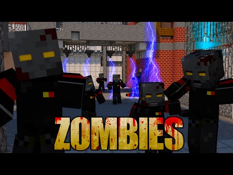 Minecraft | ZOMBIES MOD Showcase! (ZOMBIE APOCALYPSE MOD, HORROR MOD, COD ZOMBIES)